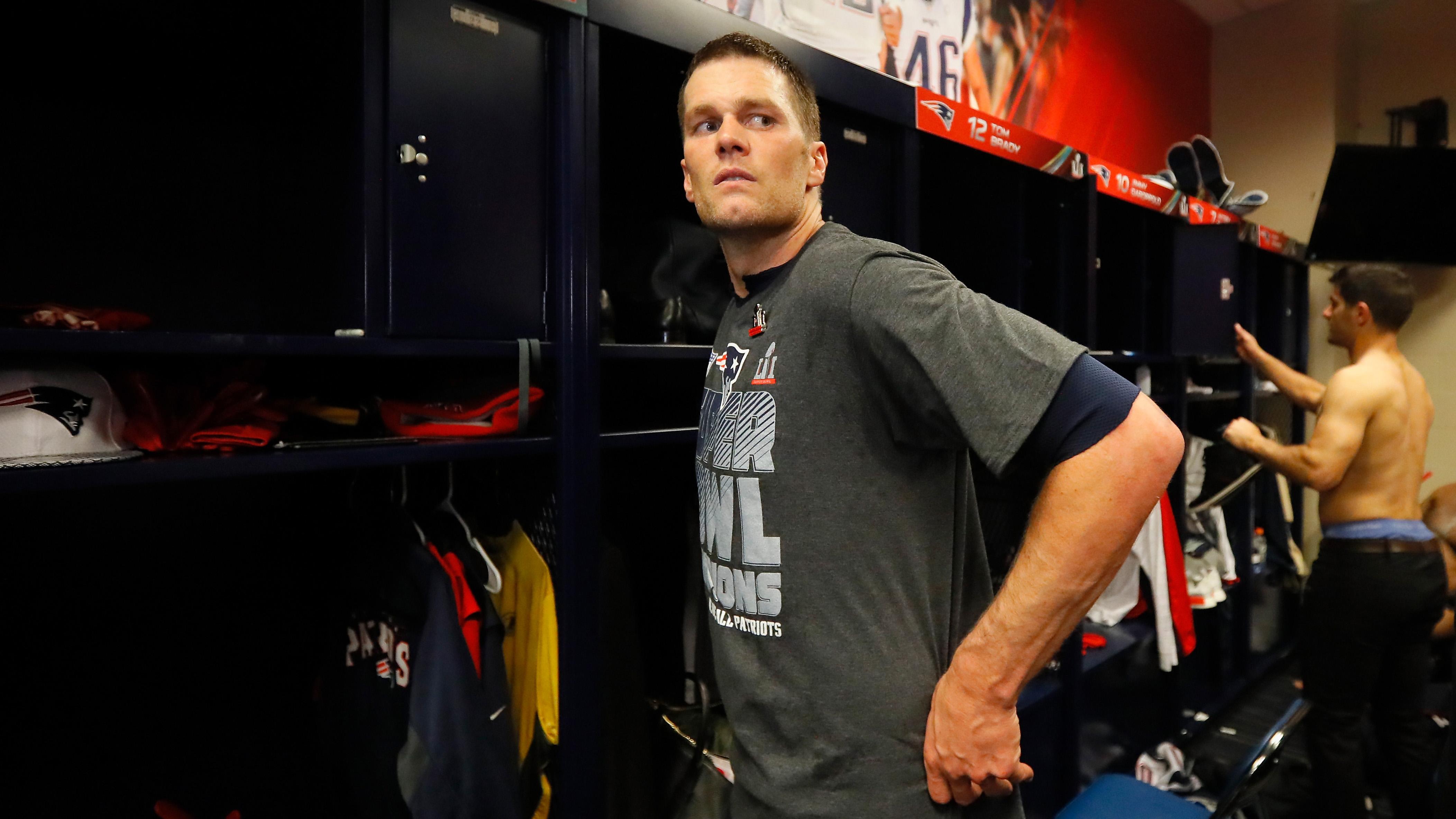 tom brady's jersey located