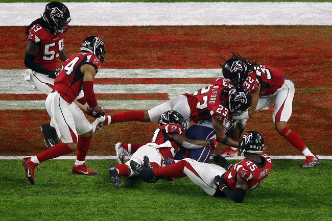 The Atlanta Falcons blew a 25-point lead and lost Super Bowl 51 in overtime to the Patriots.
