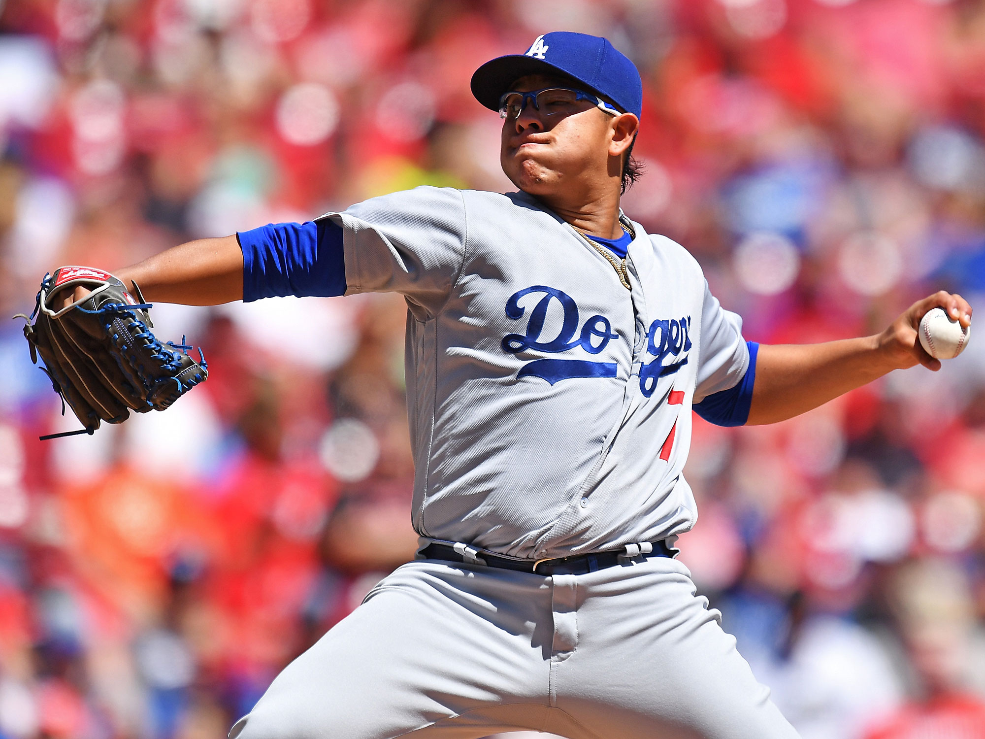 Year-After Effect: Dodgers' Julio Urias stands out on long ...