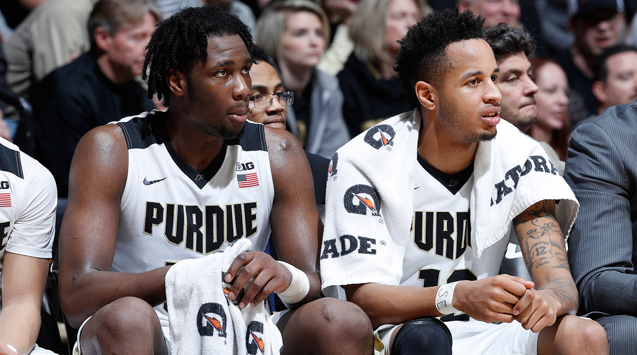 Caleb Swanigan, Vince Edwards