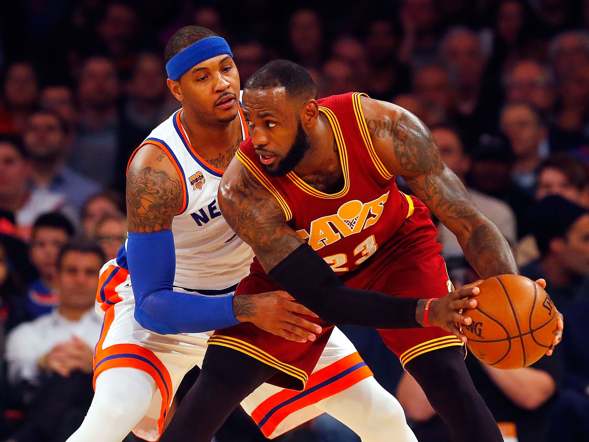 carmelo anthony and lebron james relationship with his father