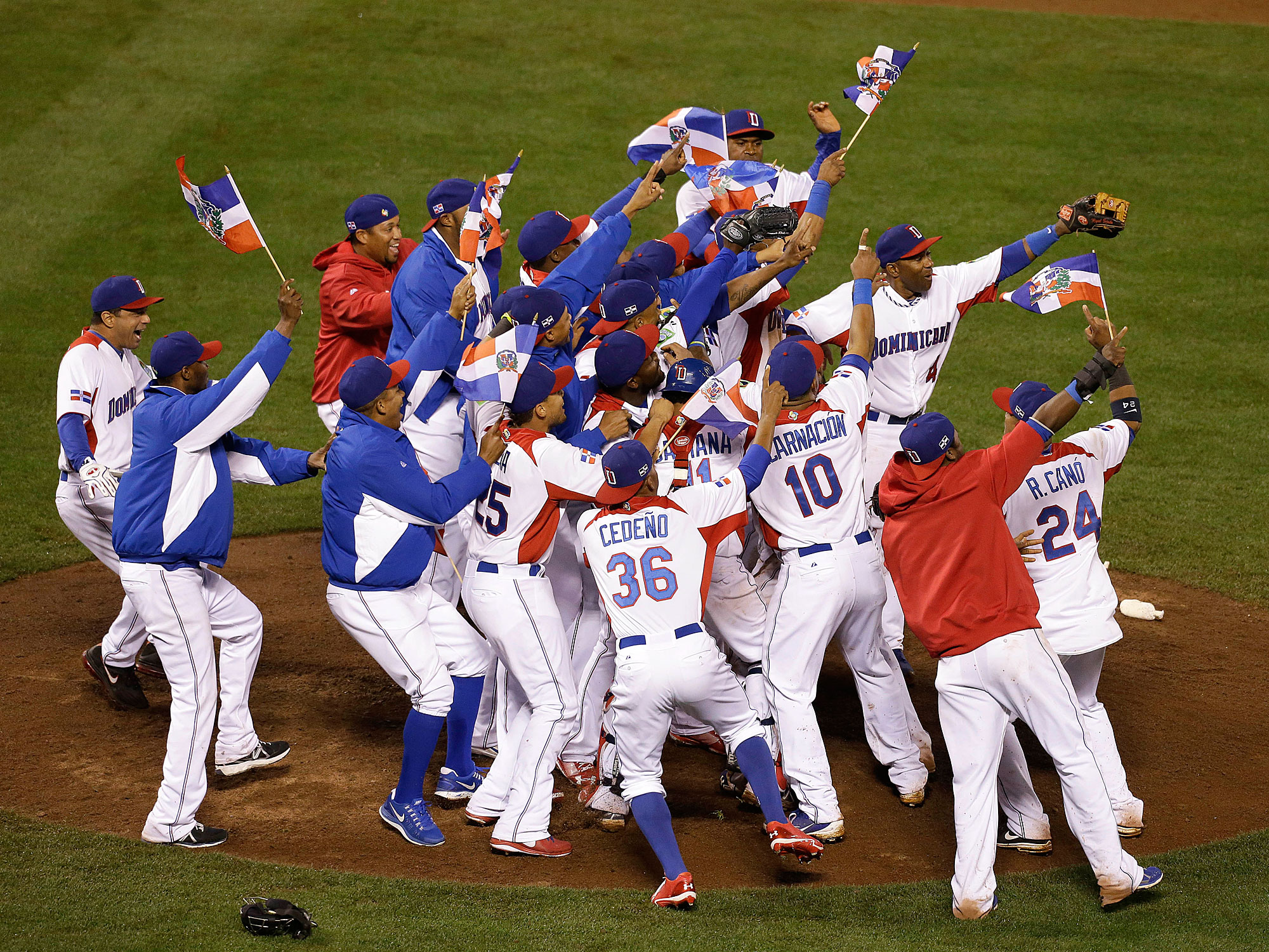 The Dominican Republic won the 2013 World Baseball Classic.