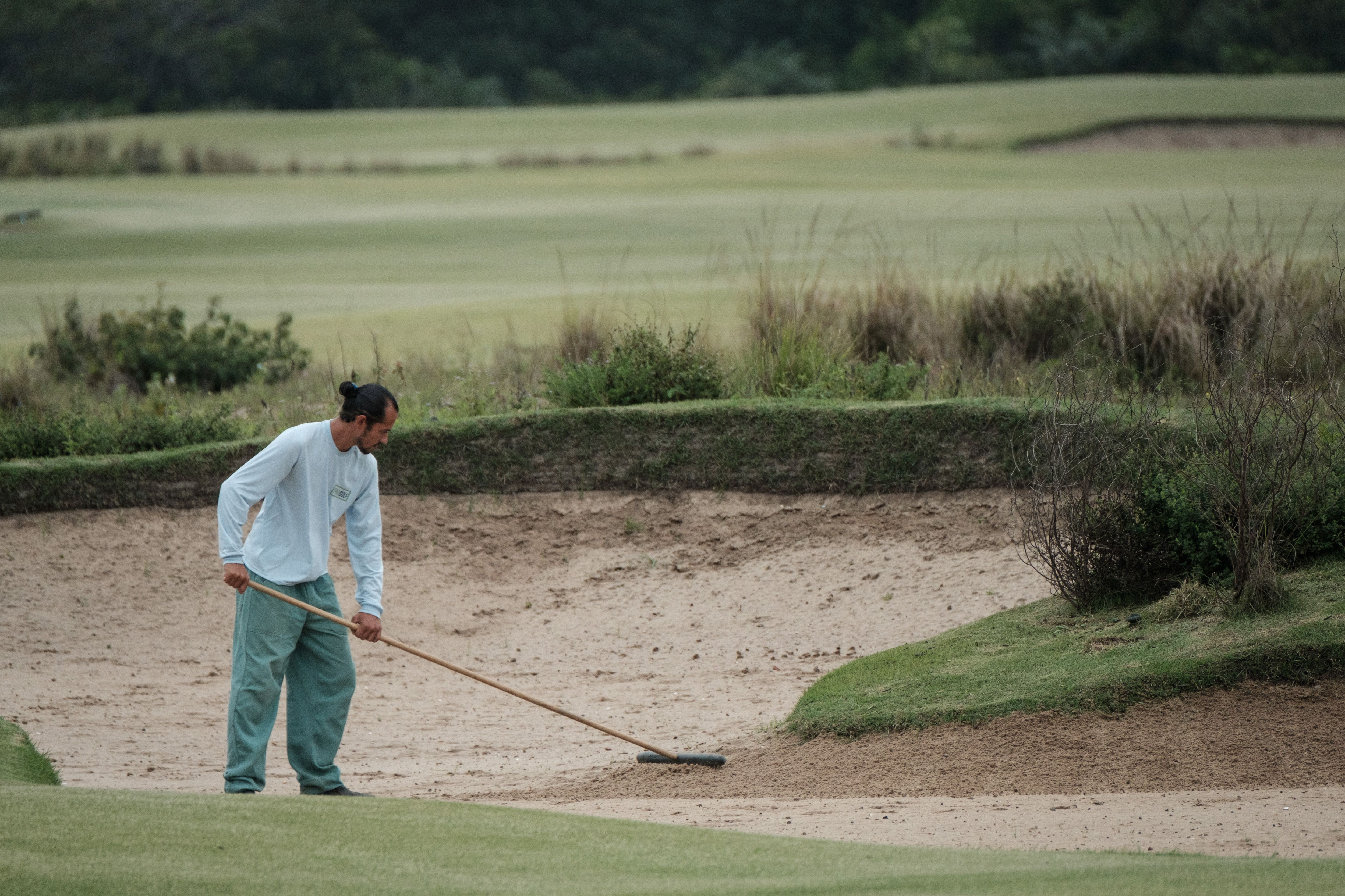 The Olympic Golf Course in Rio has proved difficult to maintain after the 2016 Games concluded.