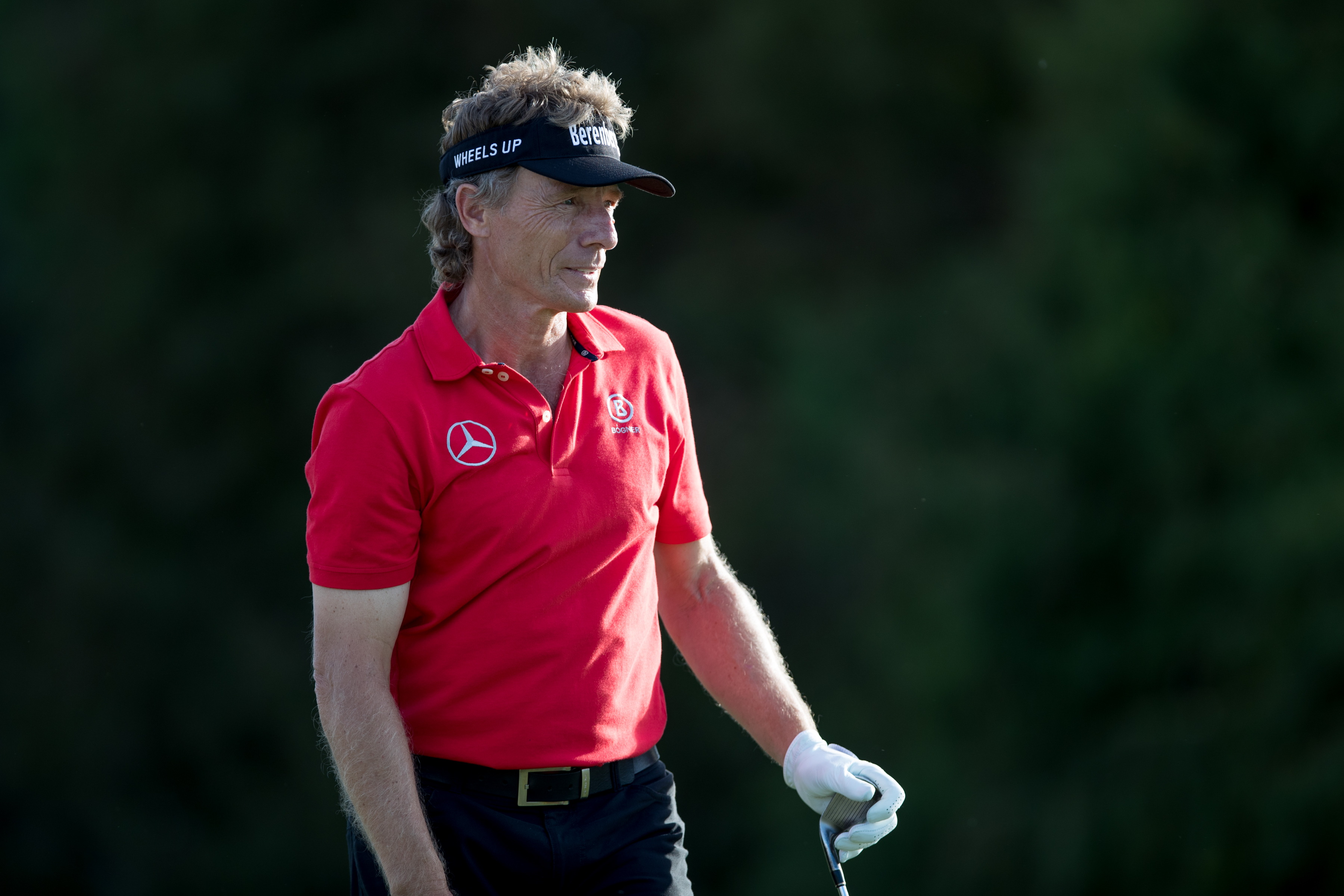 Bernhard Langer found himself mired in a political controversy last month.