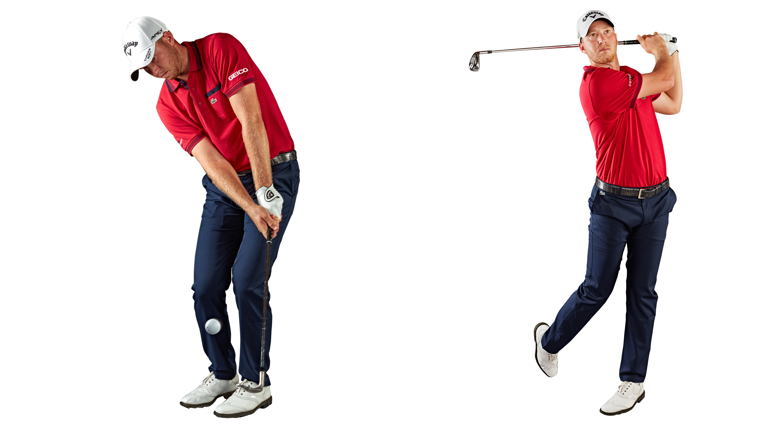 1. Learn to carry your pitches 10, 20 and 30 yards using the same basic swing. Now you're covered for 90 percent of all greenside pitches. 2. Don't think about positions when performing the sweep drill. Let your body react. Tip: More turn, less pull.