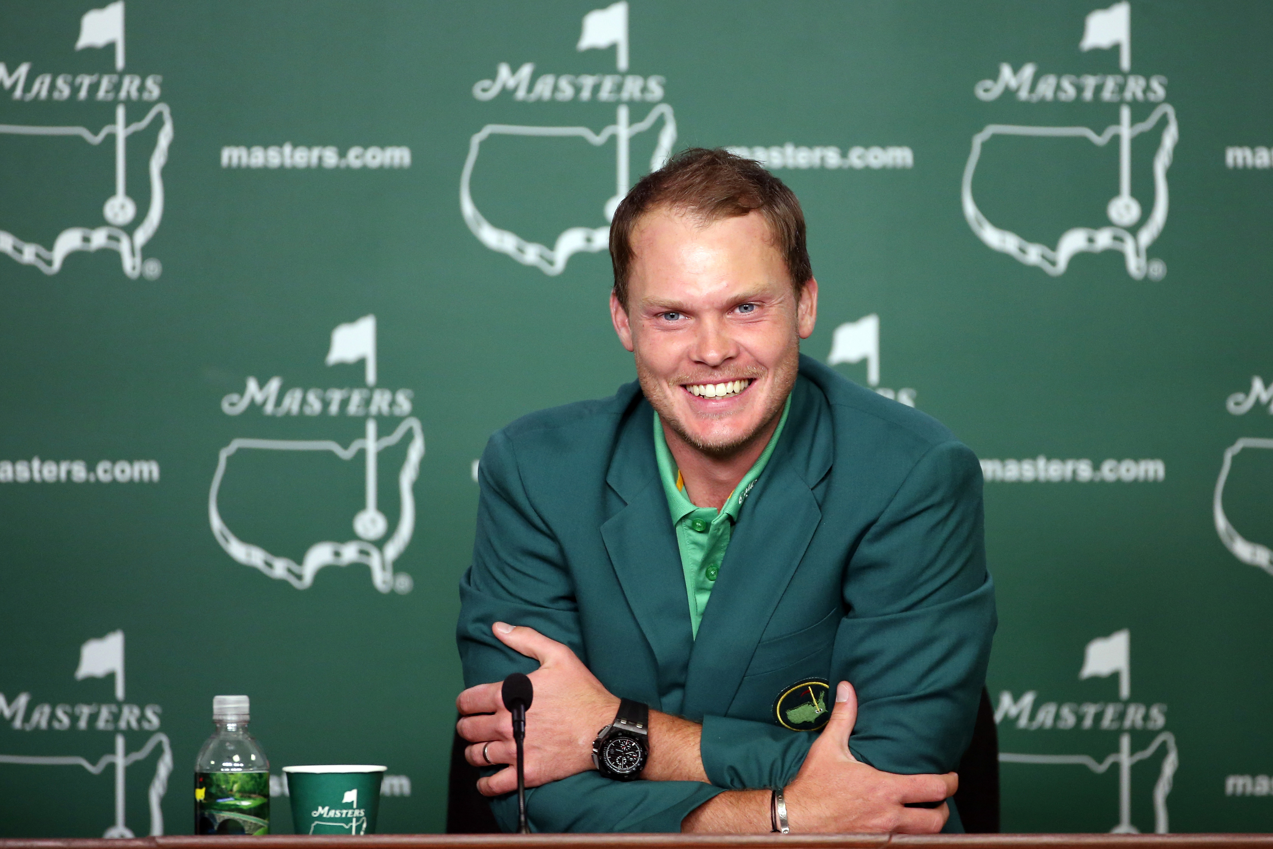 Danny Willett at the 2016 Masters