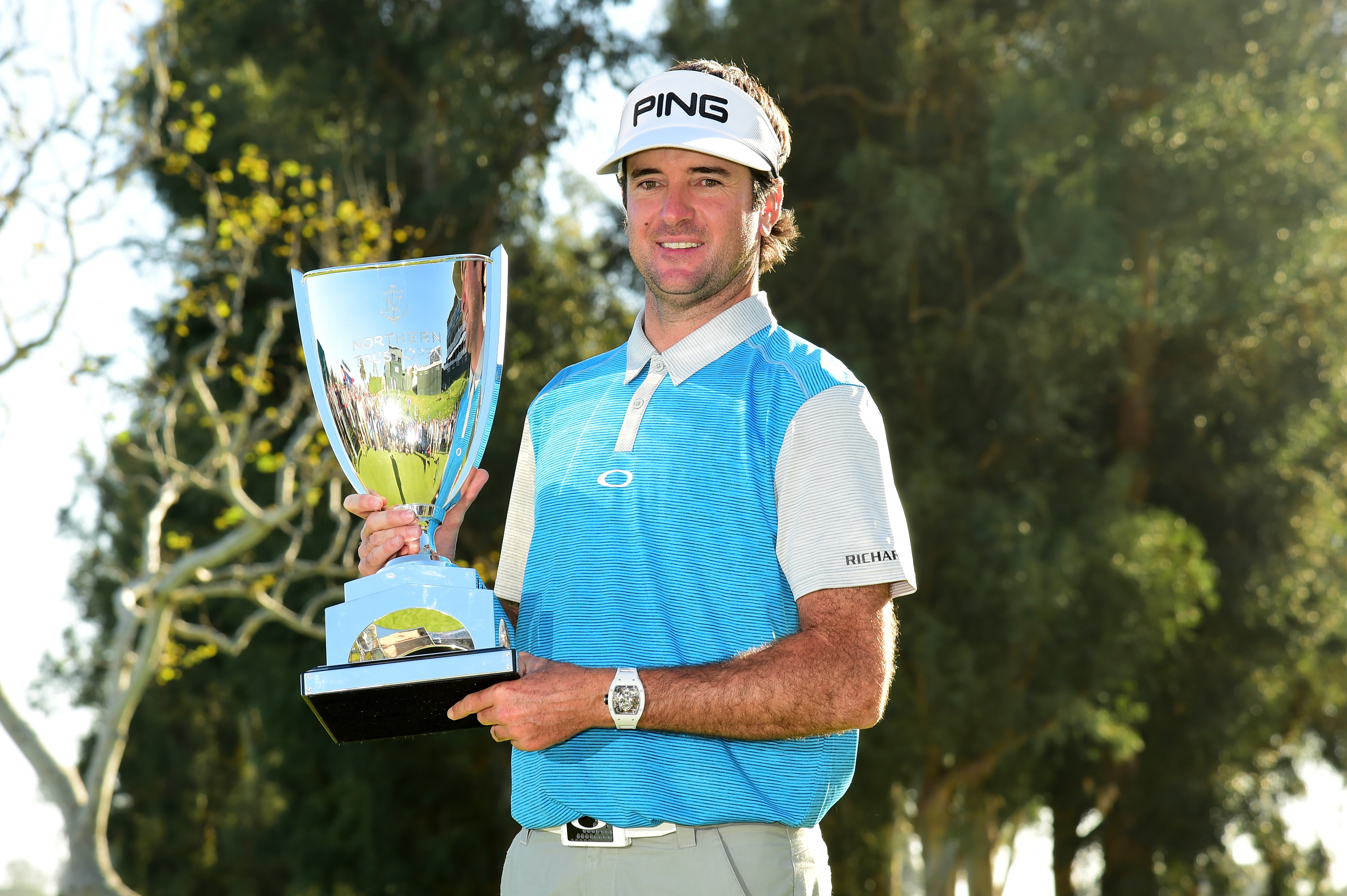 Bubba Watson is a two-time winner of the Genesis Open, winning the event both times when it was named the Northern Trust Open.