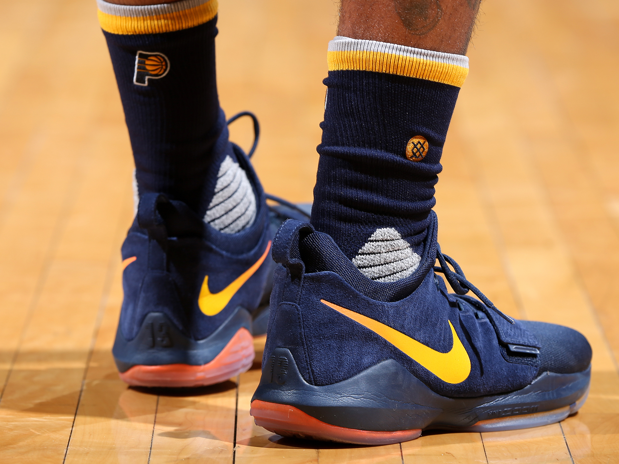 a5b3f6aa2803 Paul George s Signature Sneaker Took Three Years To Make