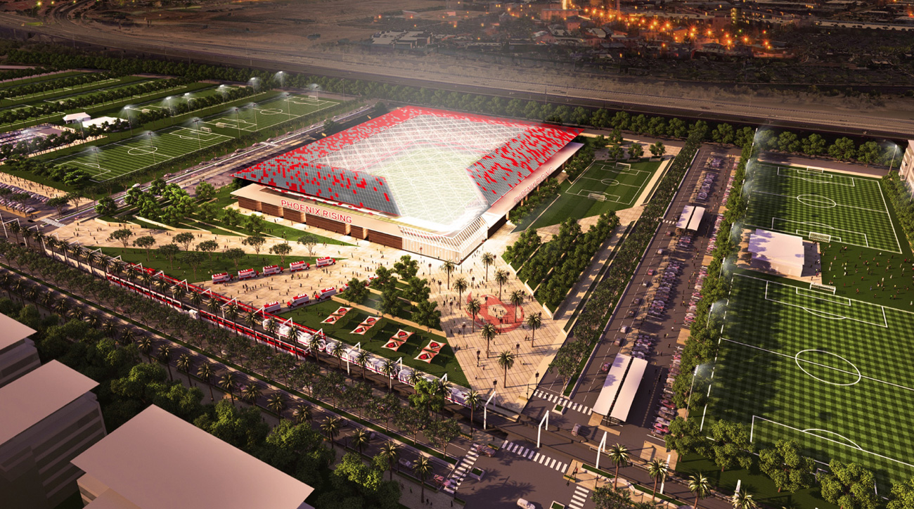 Phoenix Rising FC hopes to become an MLS expansion franchise