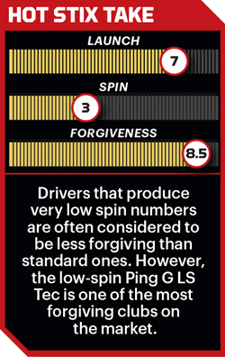Ping G LS Tec driver performance stats.