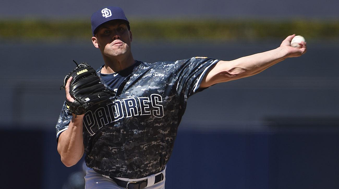 Clayton Richard, San Diego Padres