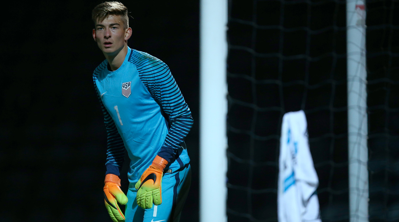 Jonathan Klinsmann is in line to start for the USA Under-20 national team in World Cup qualifying