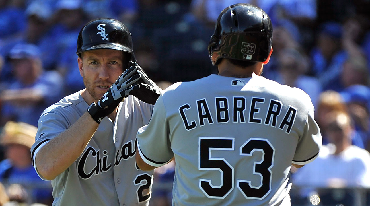 Todd Frazier and Melky Cabrera, Chicago White Sox