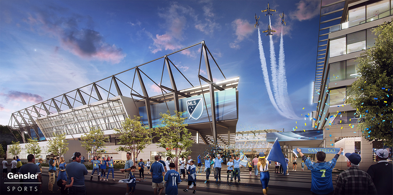 San Diego's potential MLS stadium