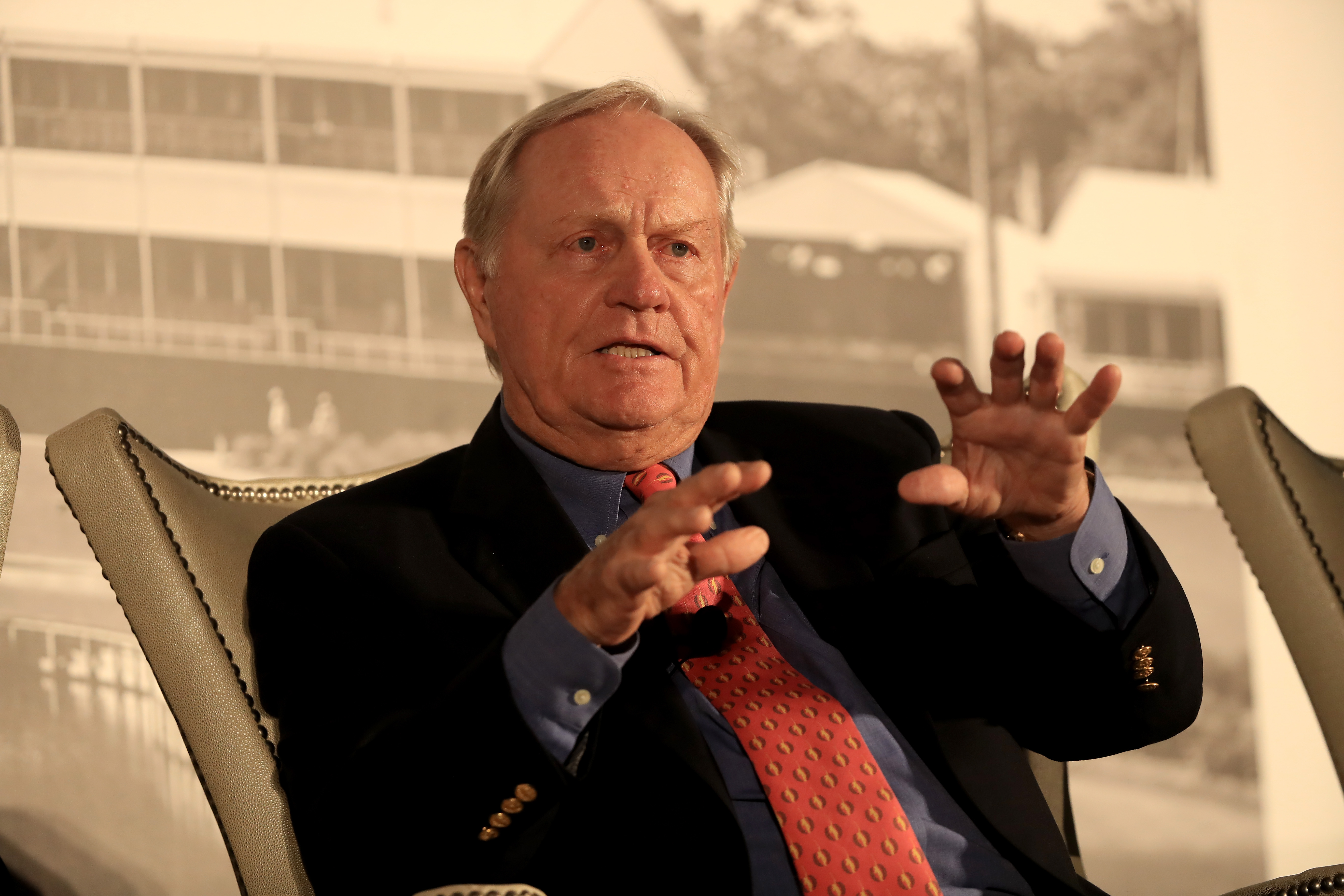 Jack Nicklaus's design company has 410 golf courses open for play around the world.