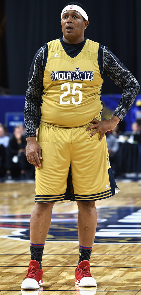 Worn by Master P in the NBA Celebrity Game