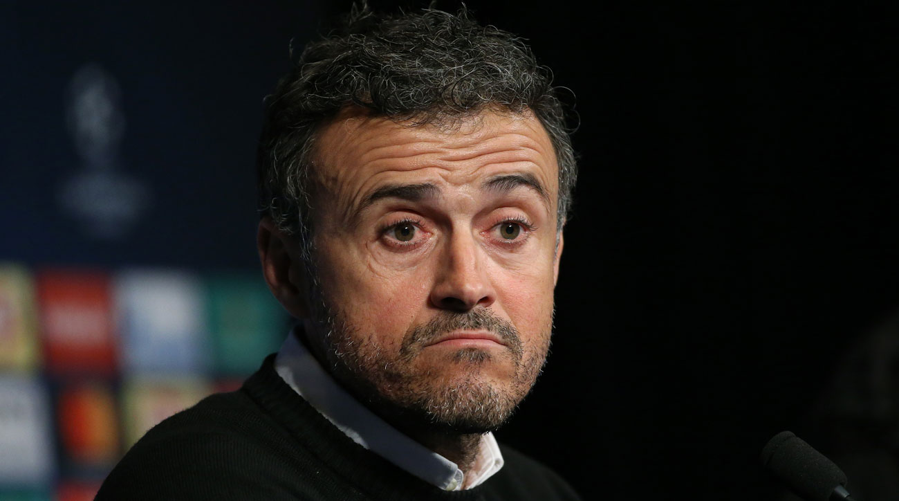 Luis Enrique is under fire at Barcelona