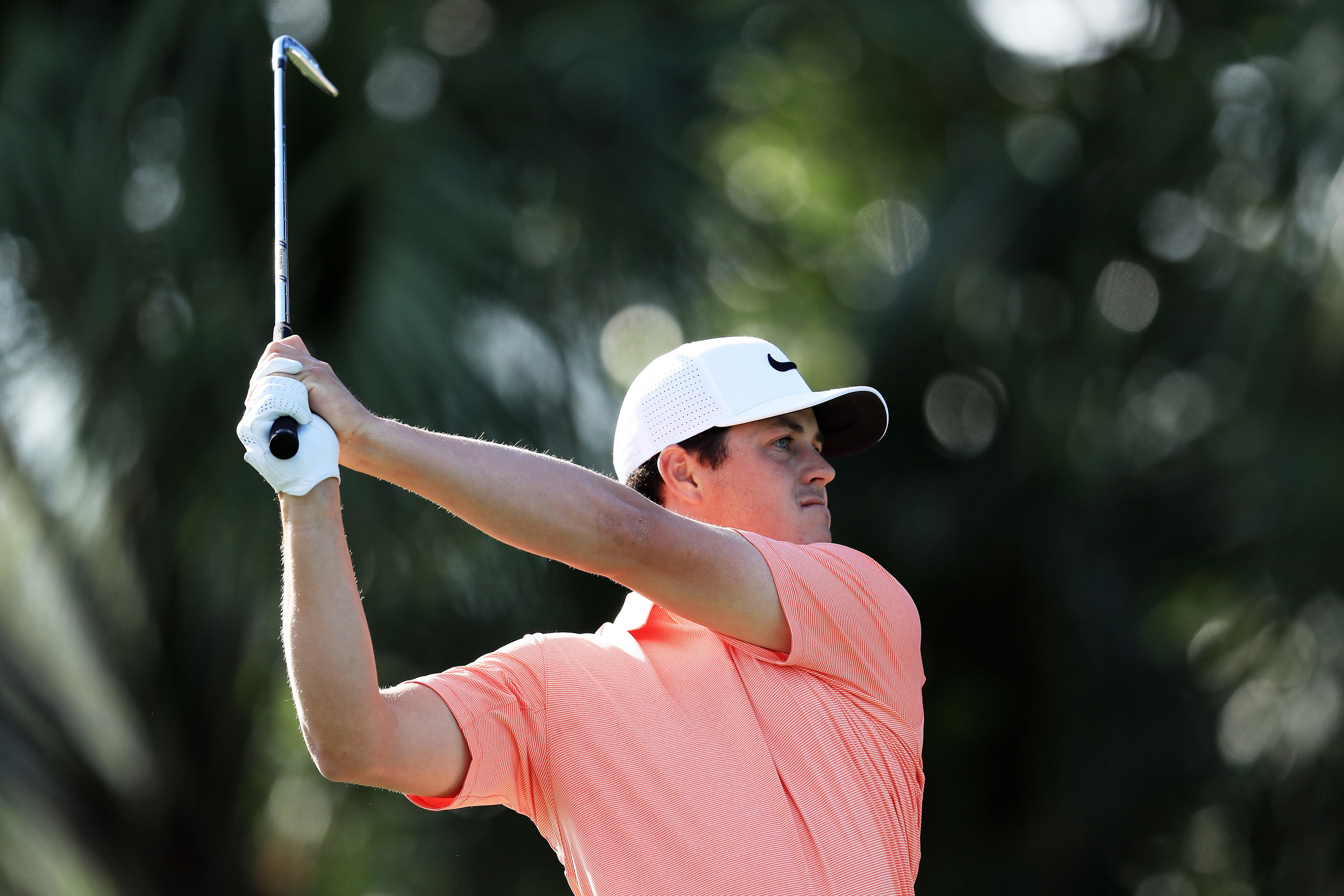 Cody Gribble during the first round of the 2017 Honda Classic.