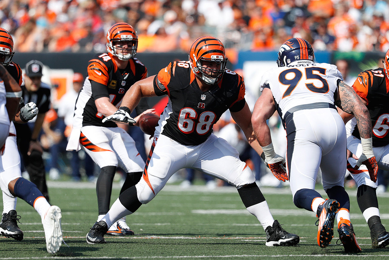 Kevin Zeitler is considered one of the best offensive linemen on the free-agent market.