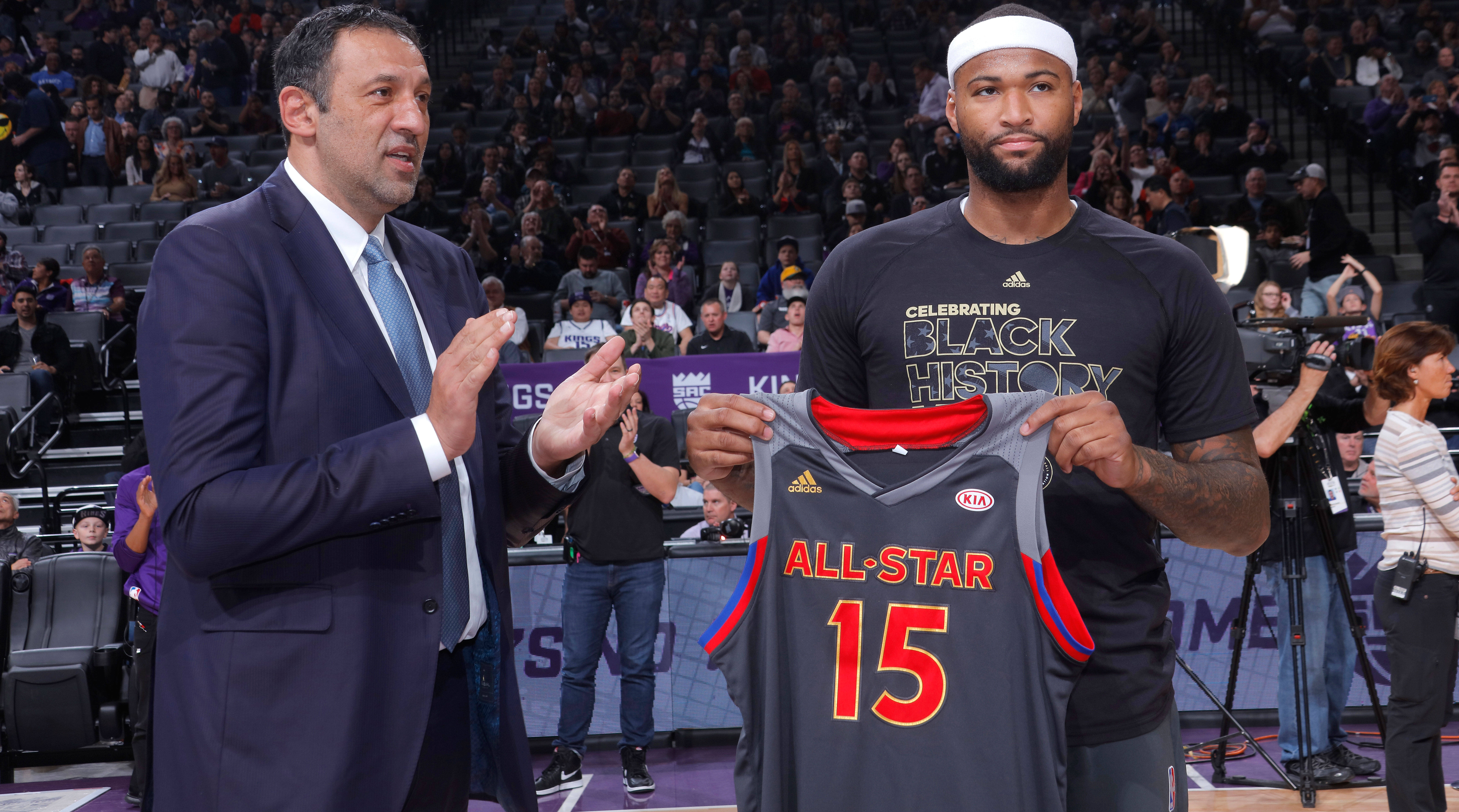 Vlade Divac on Cousins trade If I go down I m going down my way