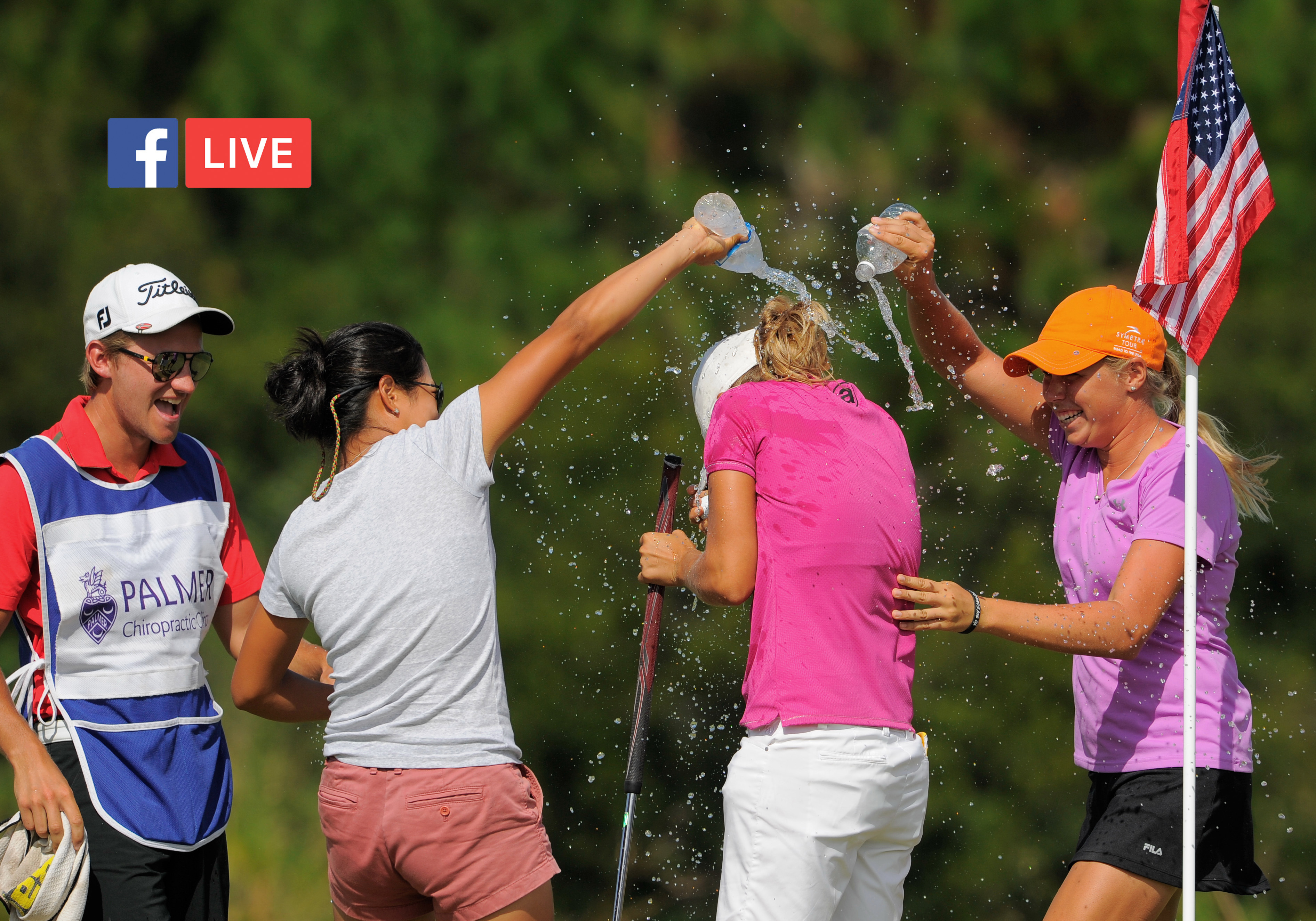 The Symetra Tour is set for their first-ever live broadcast on Facebook Live.