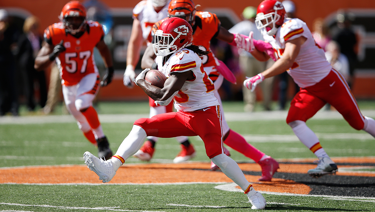 If the Chiefs release Jamaal Charles, teams like the Packers or Eagles could pounce.