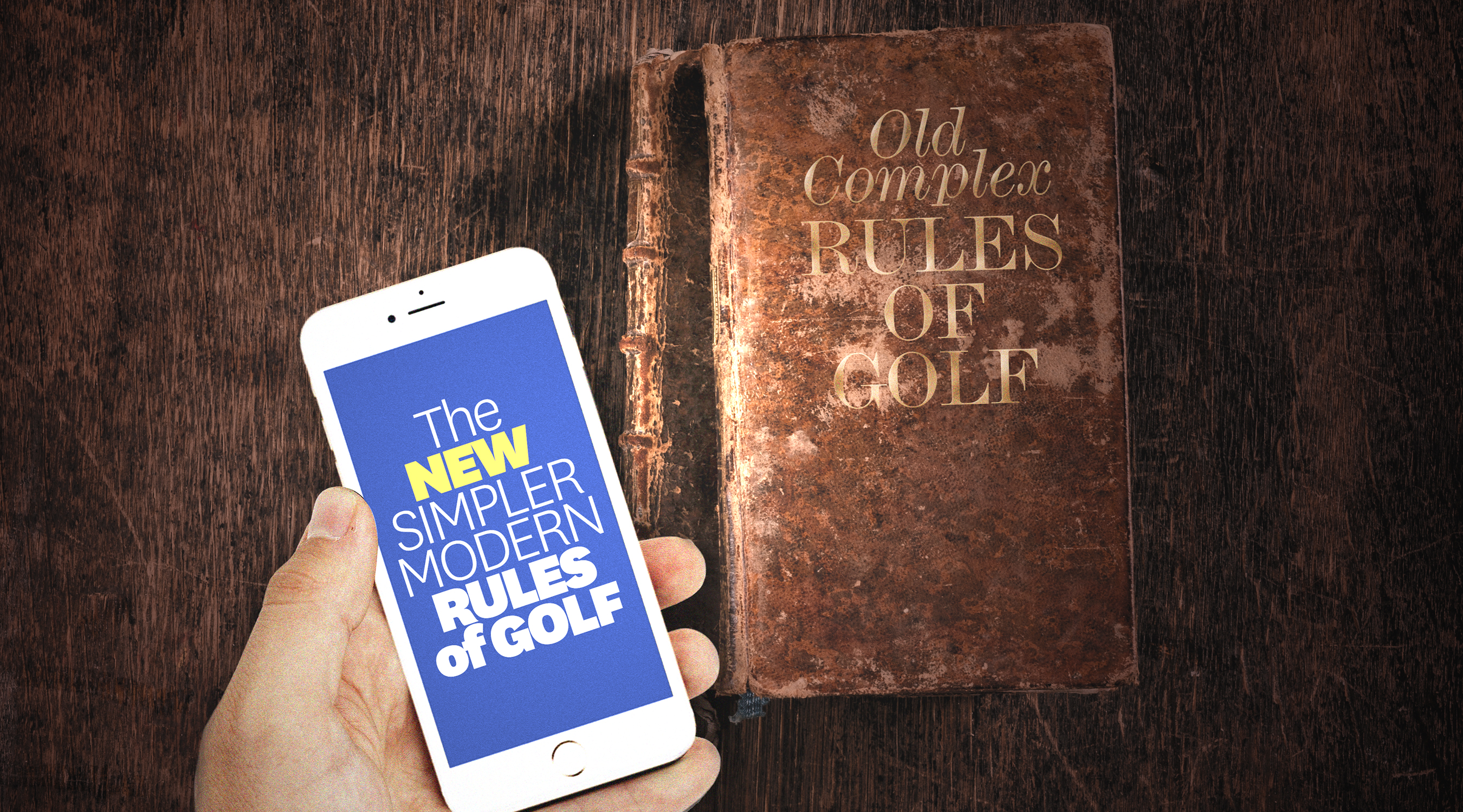 The USGA and R&A unveiled a preview of proposed new Rules of Golf, a major step in an ongoing effort to make those rules easier to understand and apply.