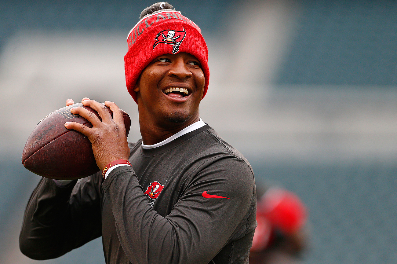 After a 6-10 record as a rookie, Jameis Winston helped lead the Bucs to a 9-7 finish in his second season at the helm.