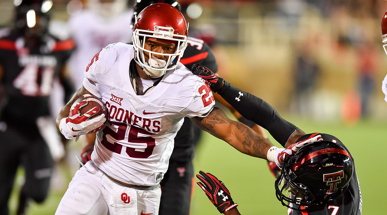 In 2016, Joe Mixon ran for 1,274 yards in 12 games for Oklahoma and averaged 6.8 yards per carry.