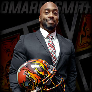 LA KISS coach Omarr Smith.