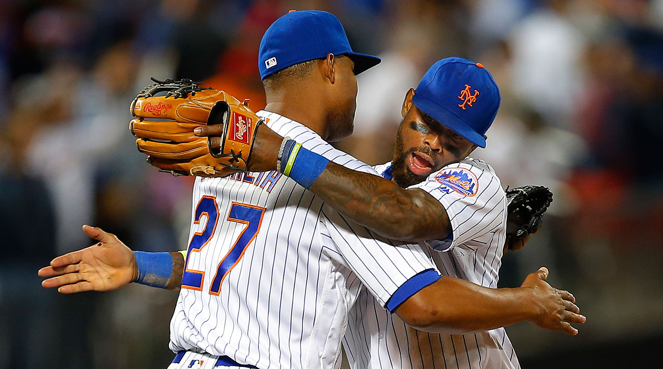Jeurys Familia and Jose Reyes, New York Mets
