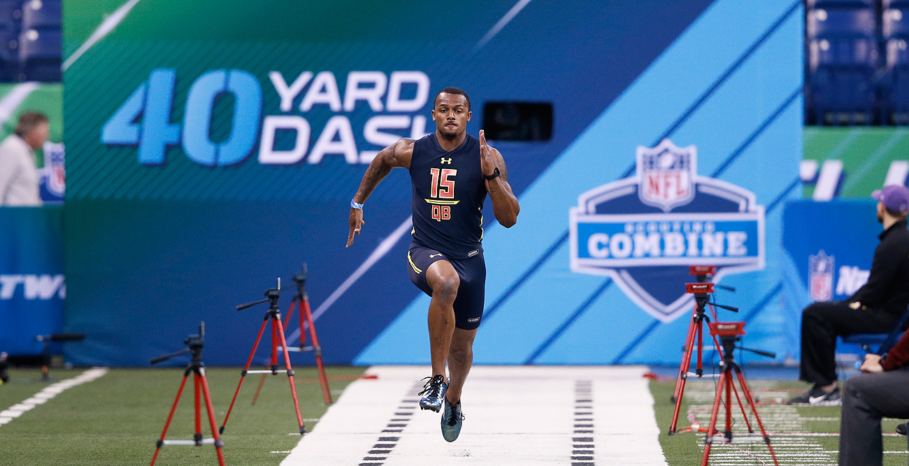 Deshaun Watson did fine in drills, but it was in the interview process where the Clemson quarterback turned heads at the combine.