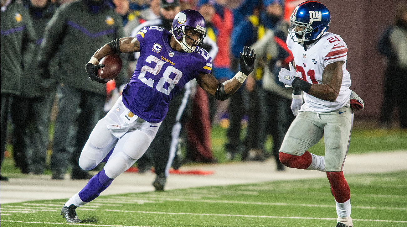 The Giants might be a perfect fit for Adrian Peterson as he hits the open market.
