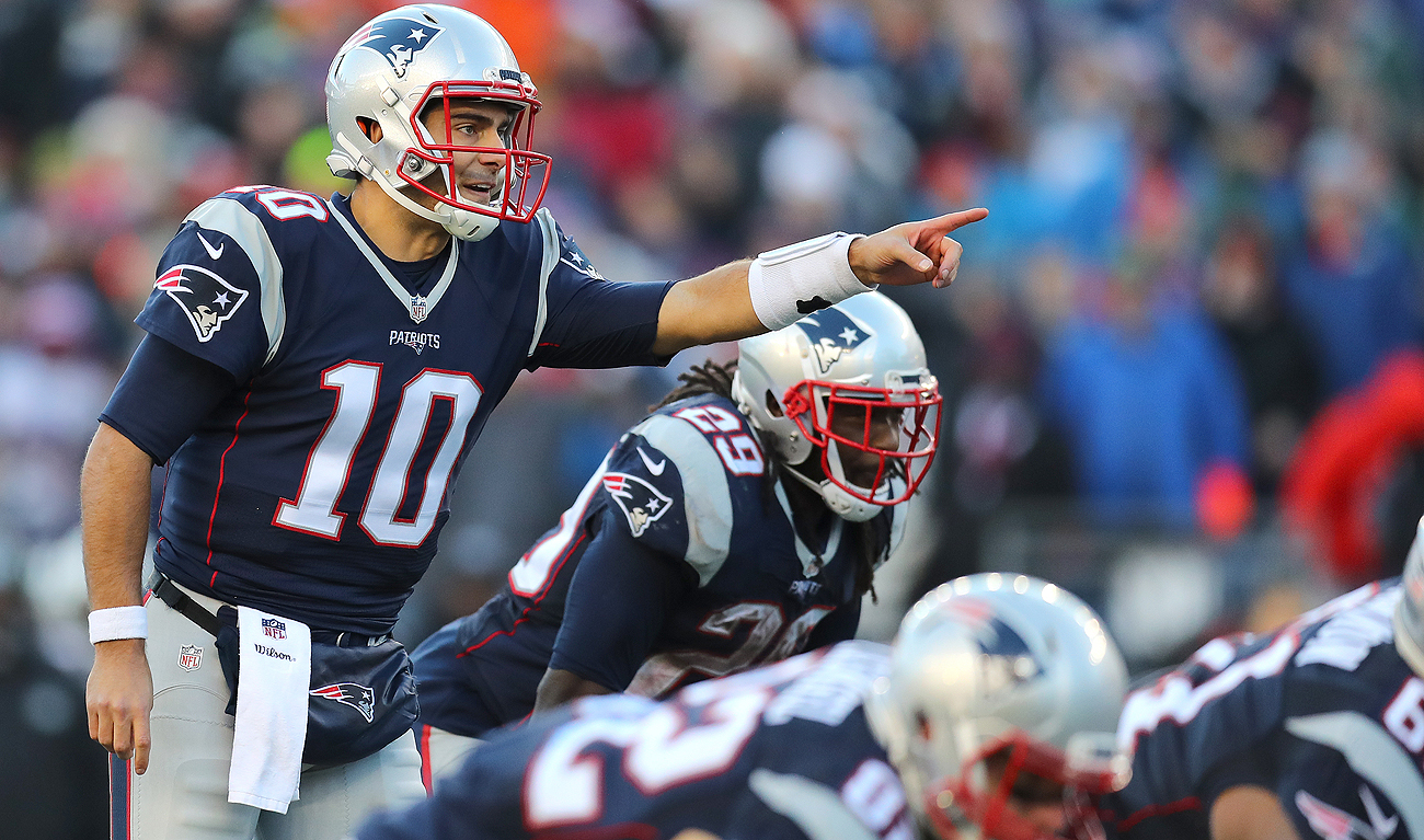 It's unlikely Jimmy Garoppolo will have the opportunity to lead an offense in 2017.