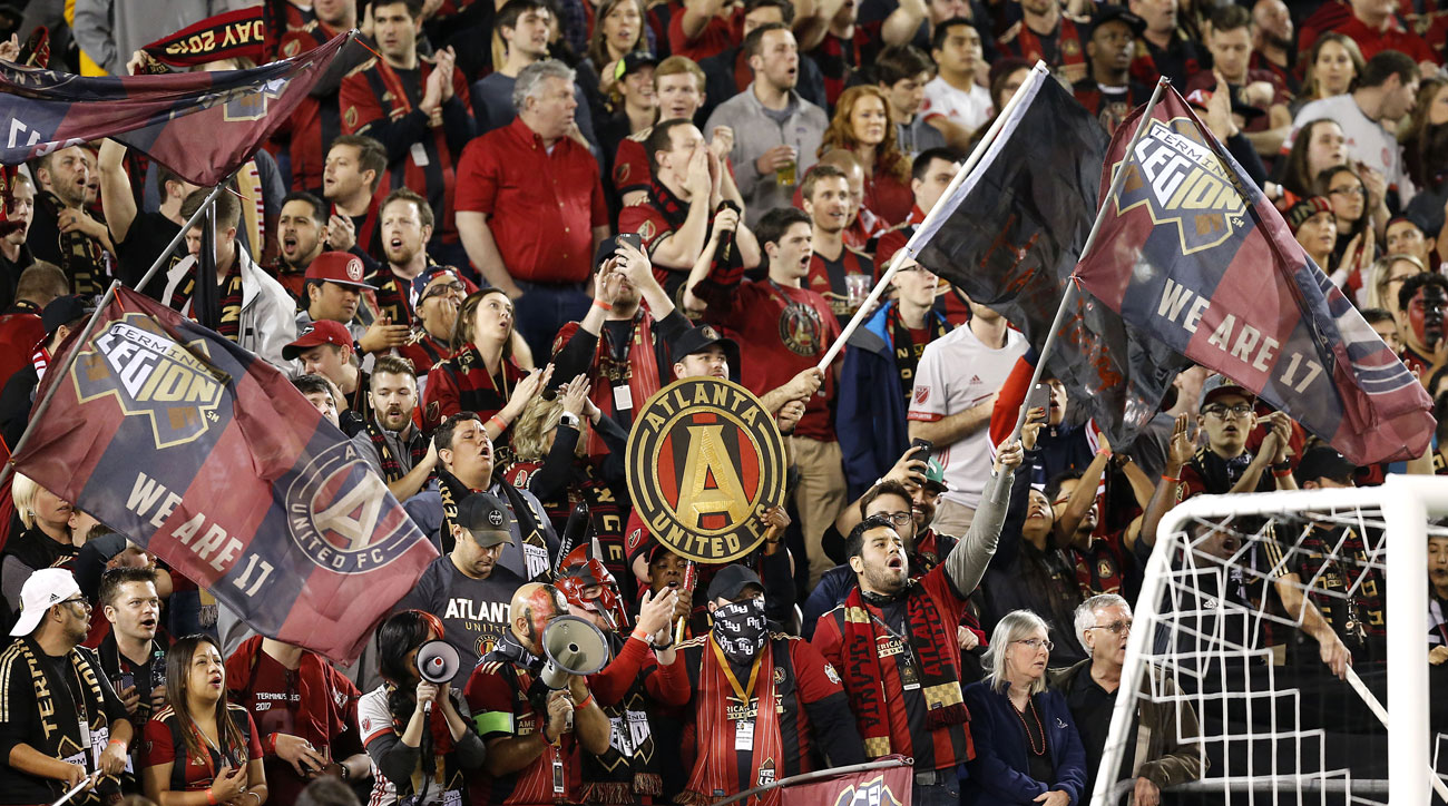 Atlanta United fans used an anti-gay chant in their opening game