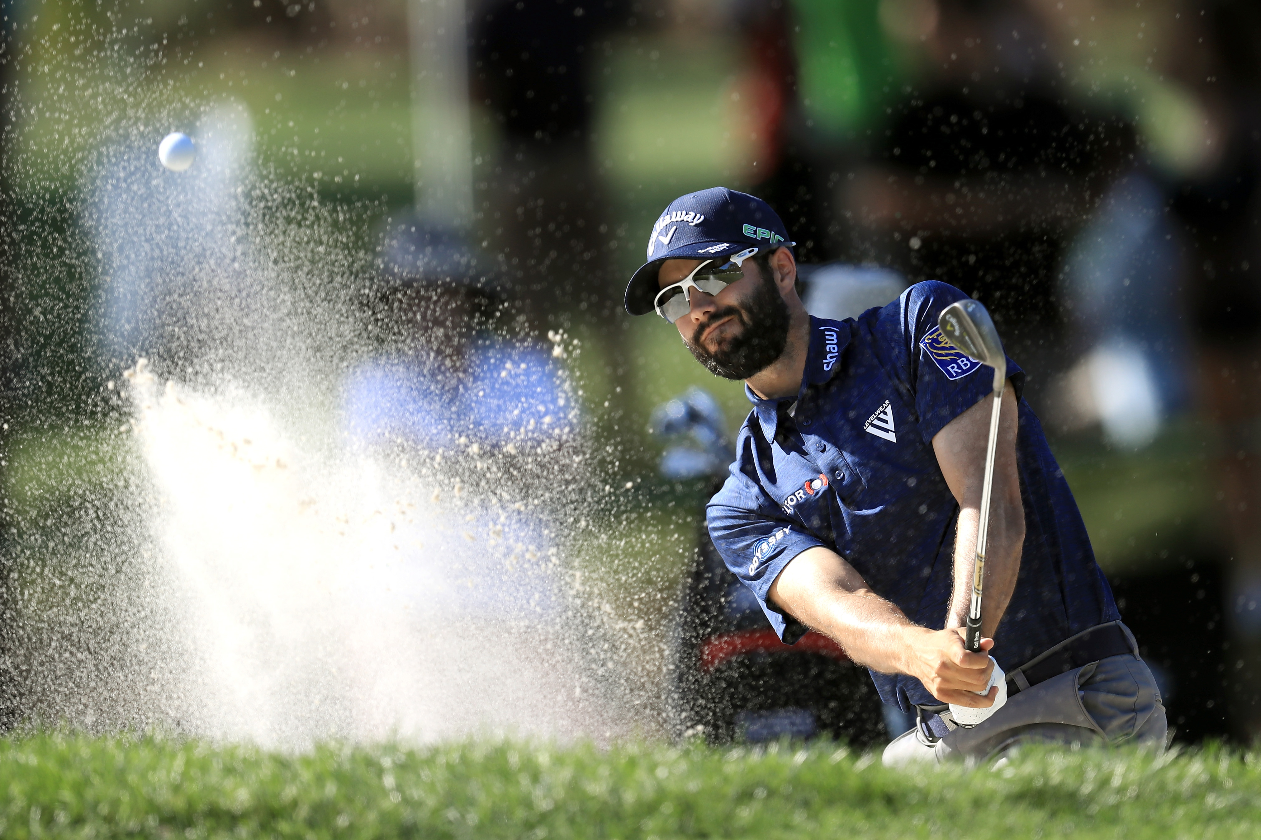 Adam Hadwin was the leading money winner on the Web.com Tour in 2014.