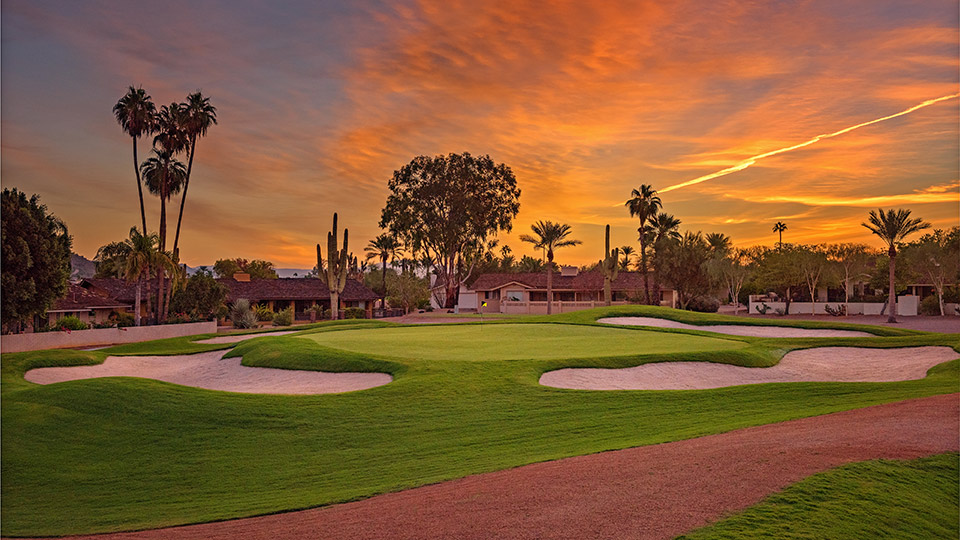 The Short Course's dazzling greens will test your short game.