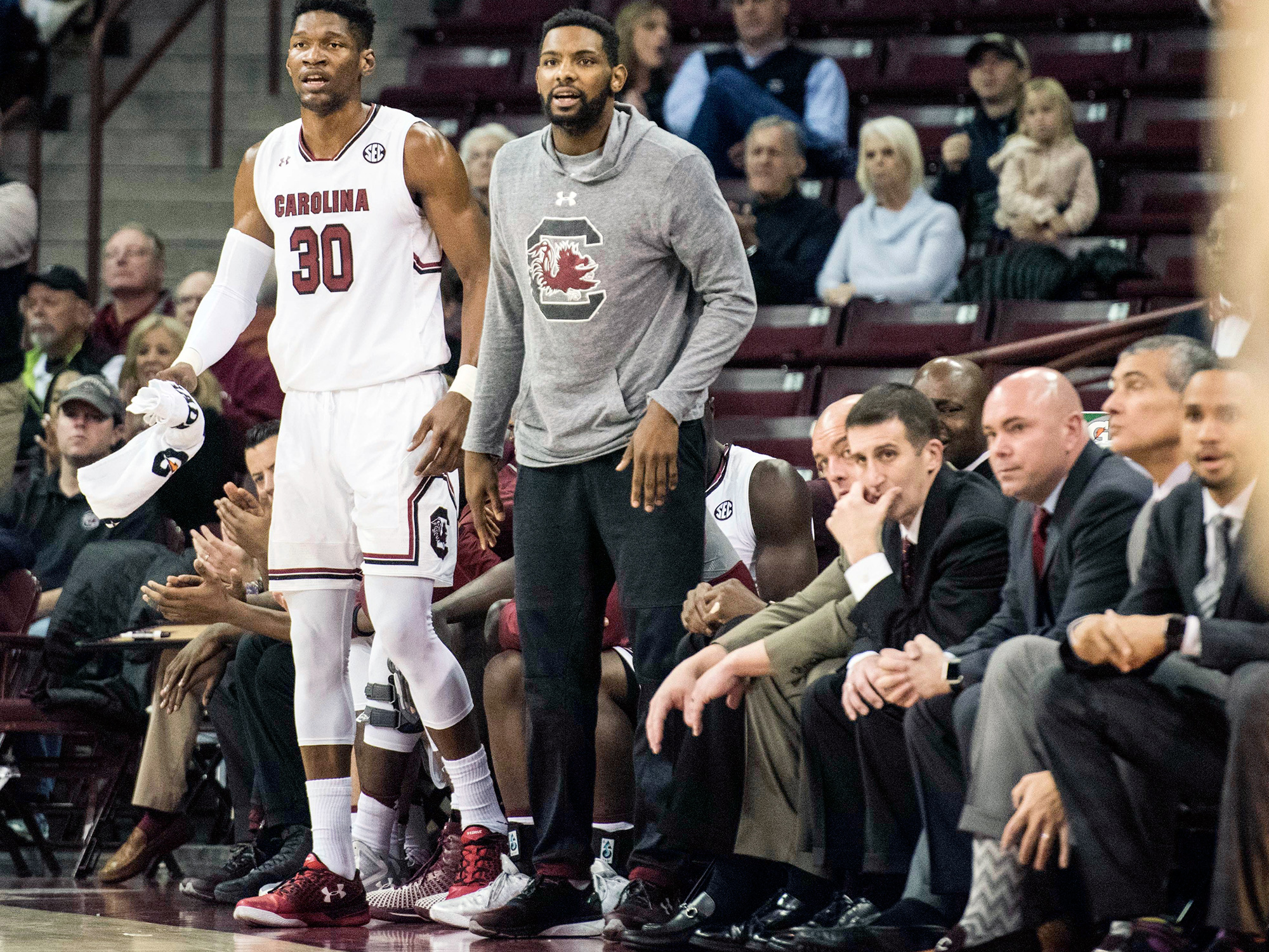 Sindarius Thornwell, South Carolina basketball