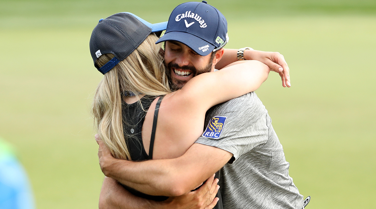 Adam Hadwin is a PGA Tour winner, but he's not about to waste money.