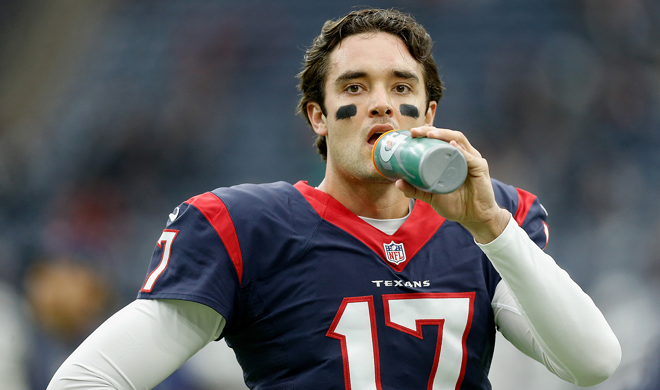 Brock Osweiler is stuck in limbo after the Texans traded him to the Browns, who have no intent on keeping him.