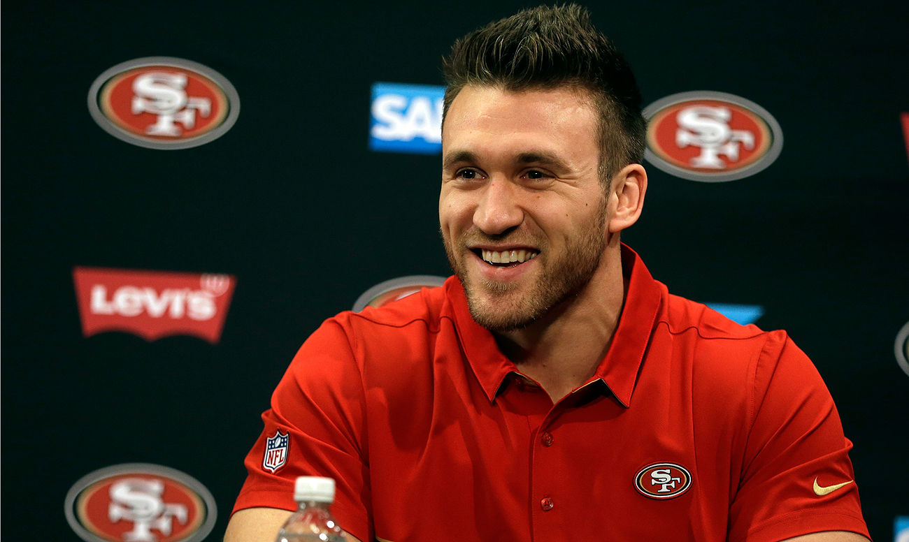 New Niner Kyle Juszczyk is now the highest paid fullback in the NFL.
