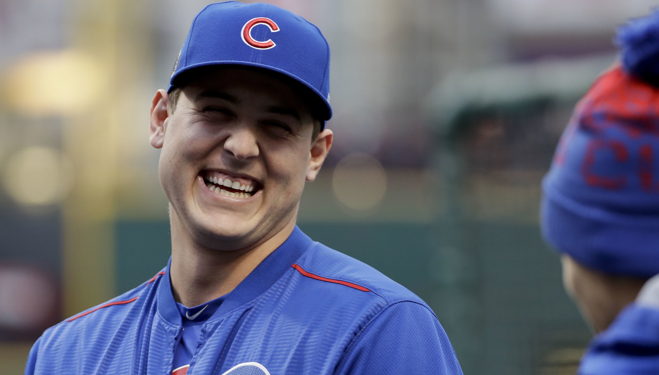 Anthony Rizzo delivered naked motivational speeches during ...