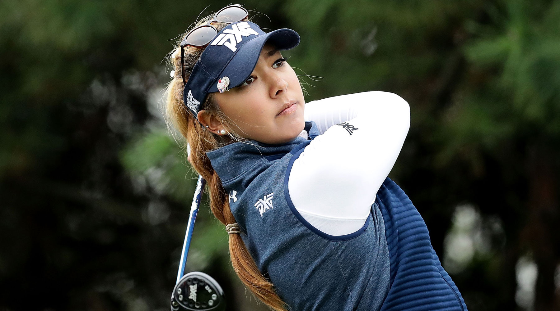 Alison Lee turned professional in 2014 after a season and a half at UCLA.