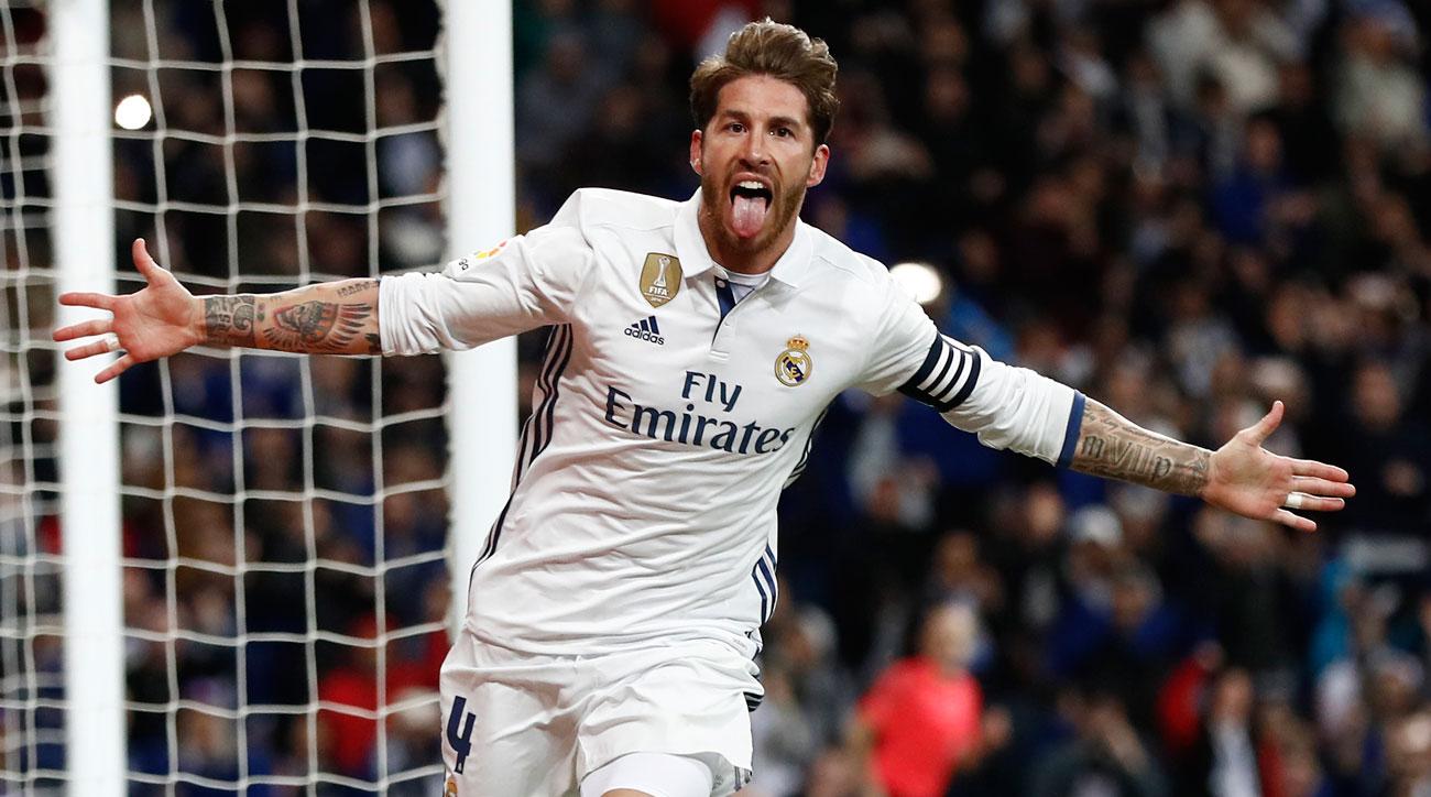 Sergio Ramos Clutch captain heads Real Madrid atop La Liga