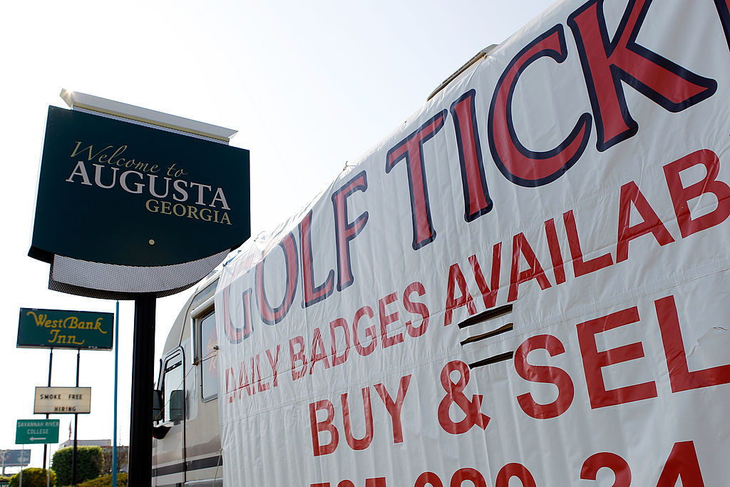 How to pull off a Masters trip for less than $800 Golf Carts Augusta Ga New Travel Planning Georgia on