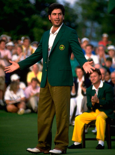 "In 1992, the jacket looked sharp. ""I always thought I should win there,"" he says of Augusta National."