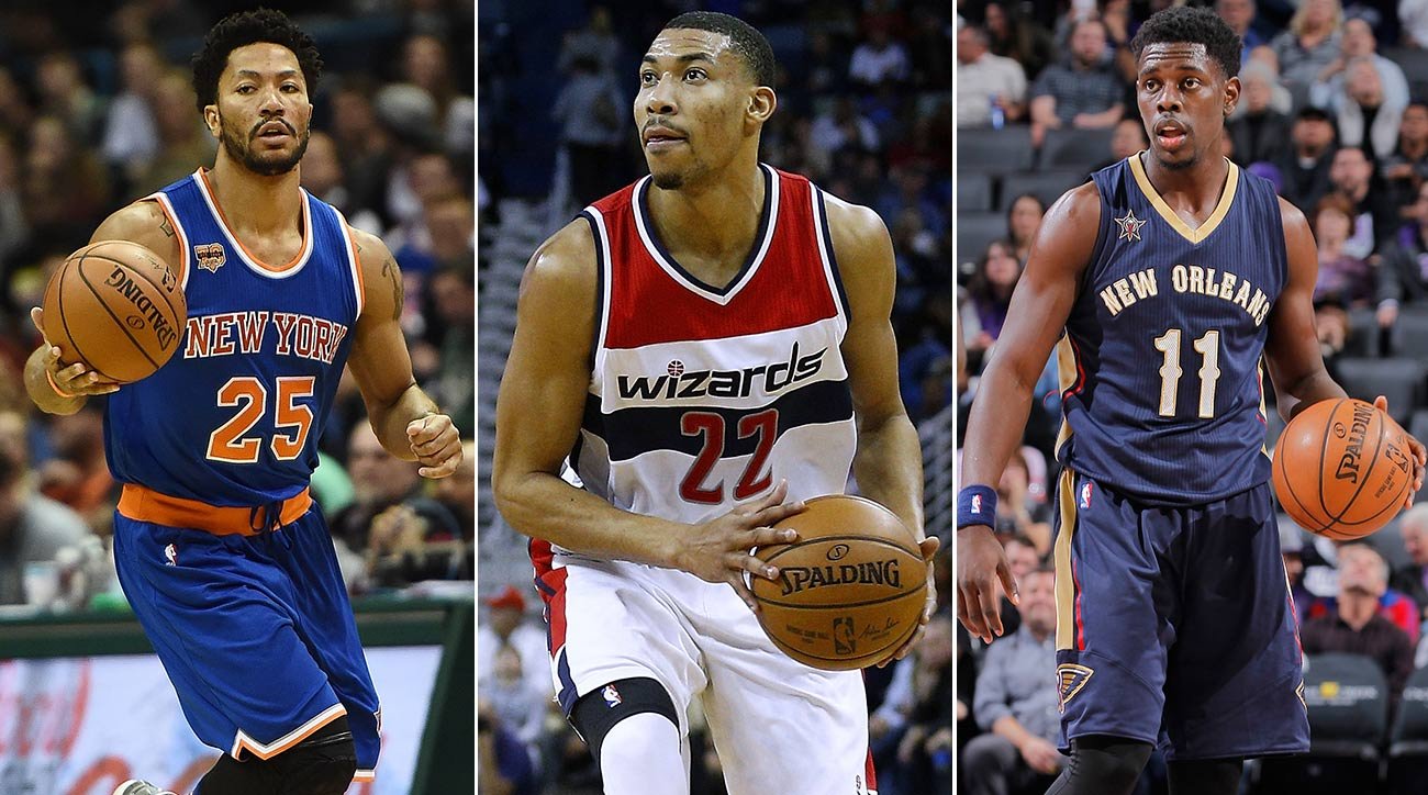 Derrick Rose, Otto Porter, Jrue Holiday