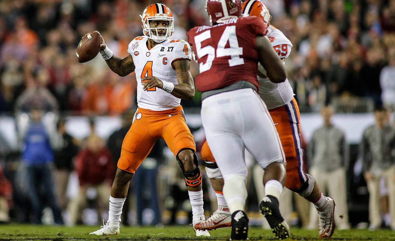 Deshaun Watson's performance on the biggest stage is part of the draw for NFL teams interested in drafting the Clemson quarterback.