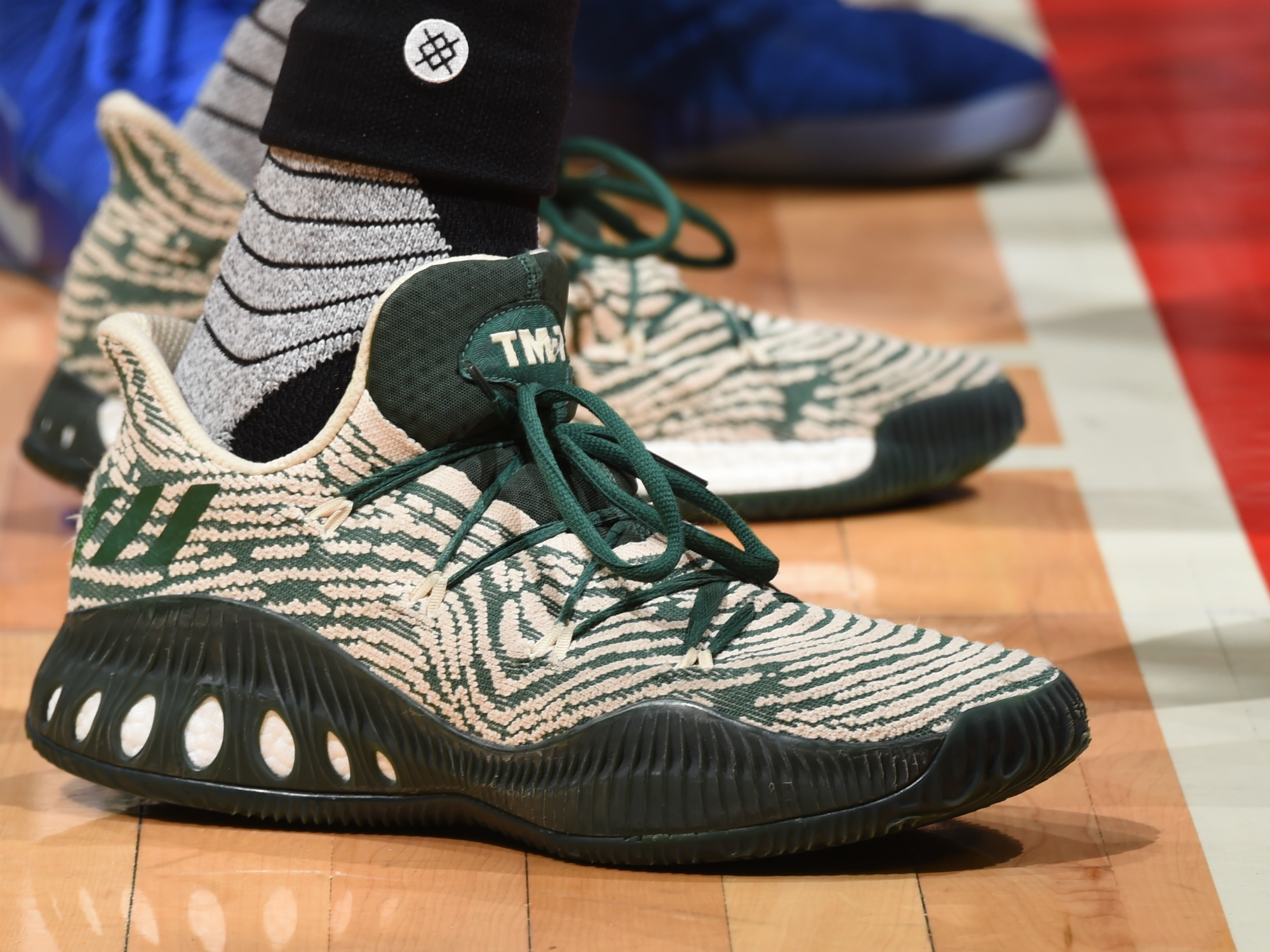 Adidas Crazy Explosive Low worn by Thon Maker