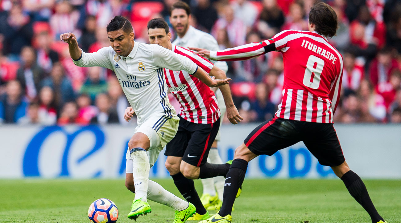 Casemiro stars for Real Madrid vs. Athletic Bilbao